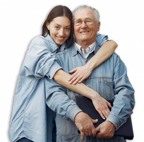 woman-hugging-her-grandfather